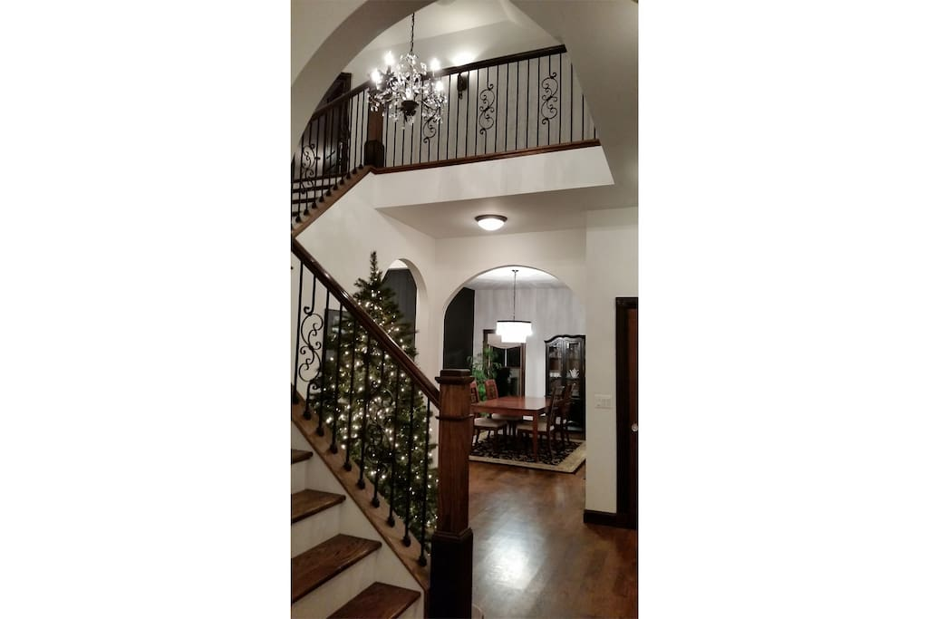 Front Entrance Stairway