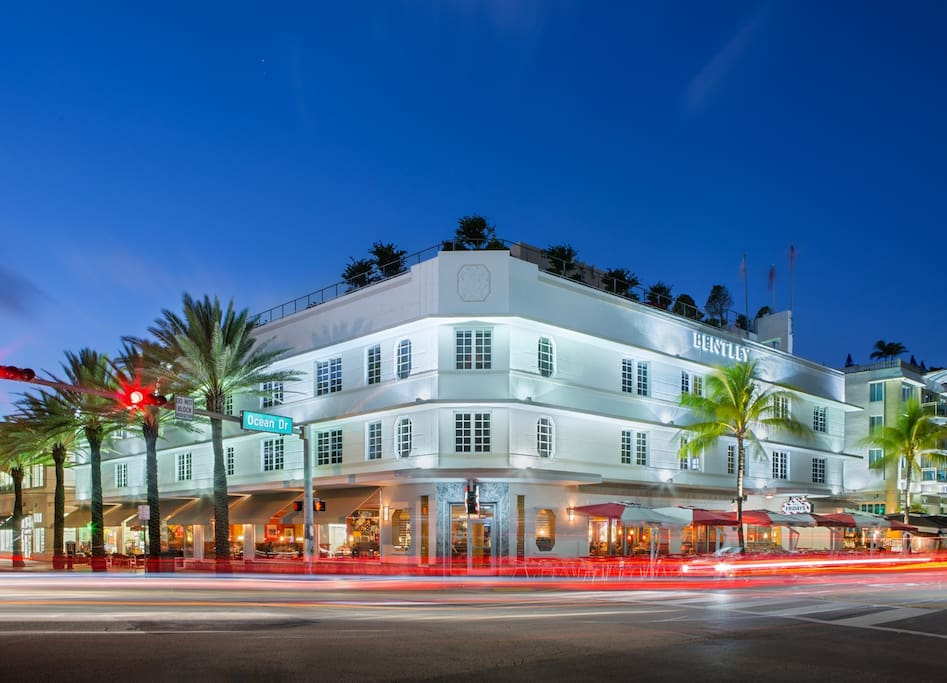 The bentley hotel ocean drive miami