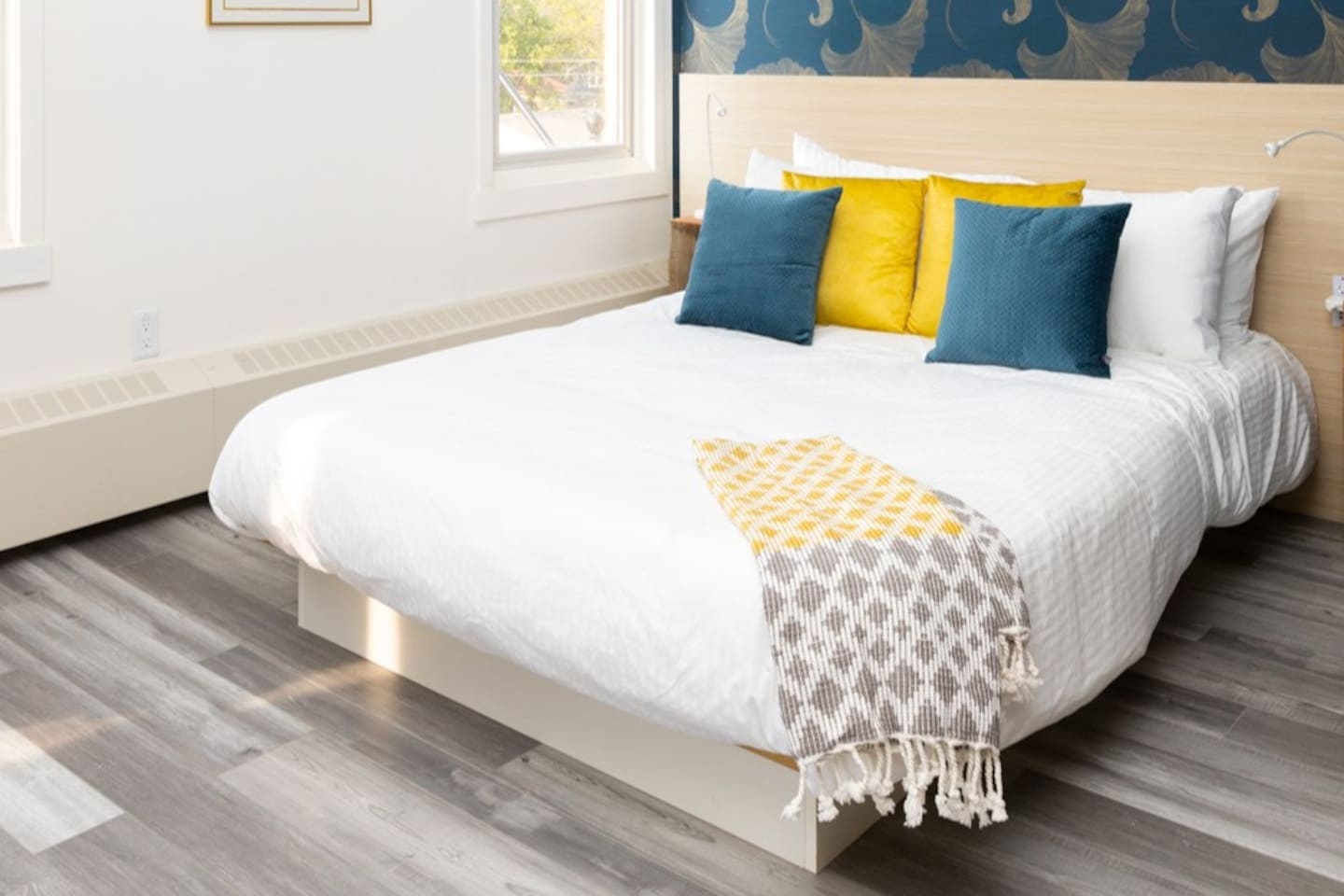 Our comfy, plush foam mattresses, fluffy duvets and extra soft pillows and bedding were chosen to ensure it feels like you're sleeping on a cloud!