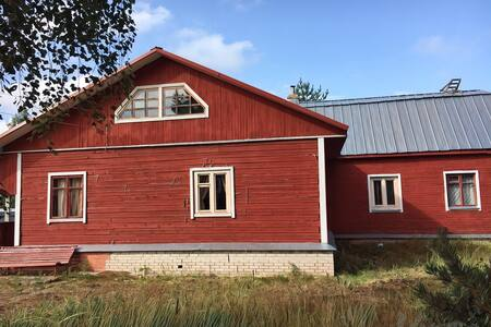 House / Дача 500 м до Онеги