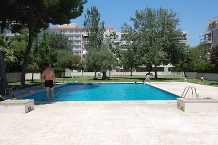 Private swimming pool & 2 min Arsenal beach - Can Pastilla