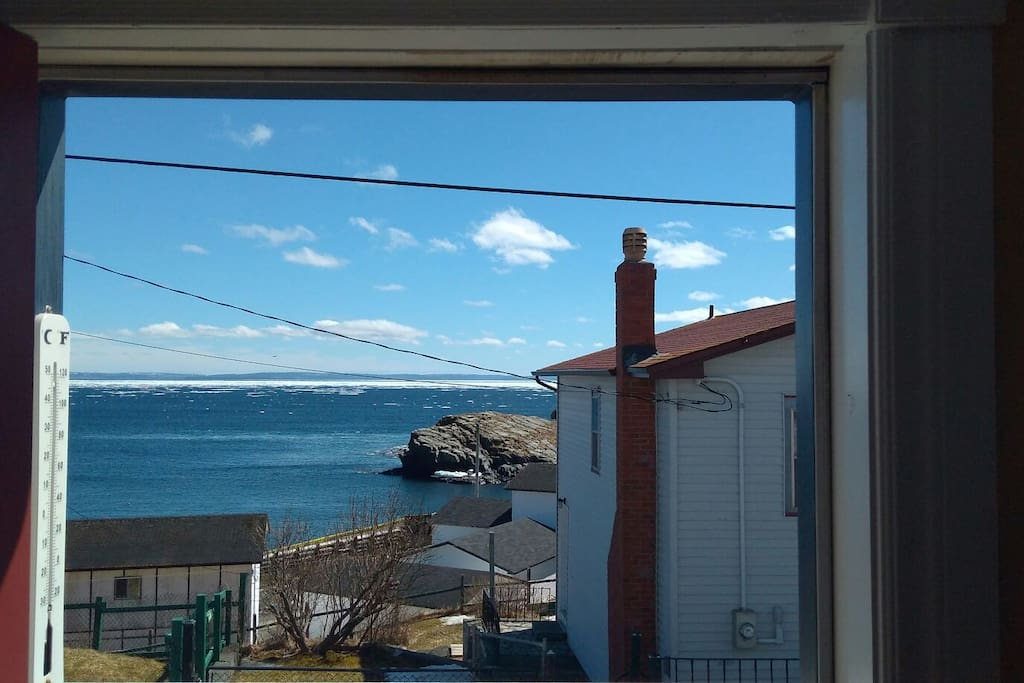 View from front deck