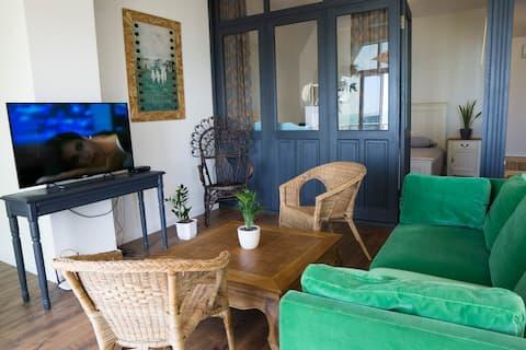 Apartamento con estilo con vistas al mar