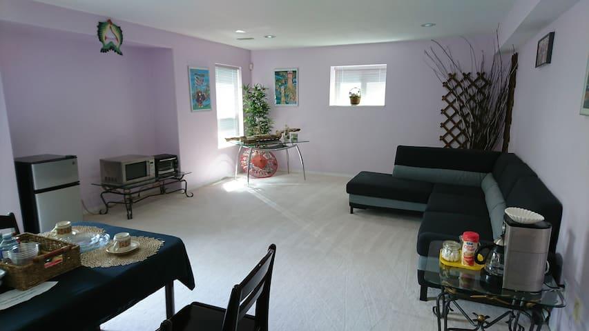 Bright & Cozy Main Room