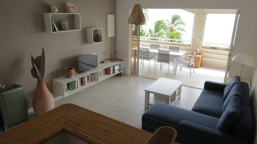 Appartement lumineux face à la mer - Sainte-Luce - Appartement