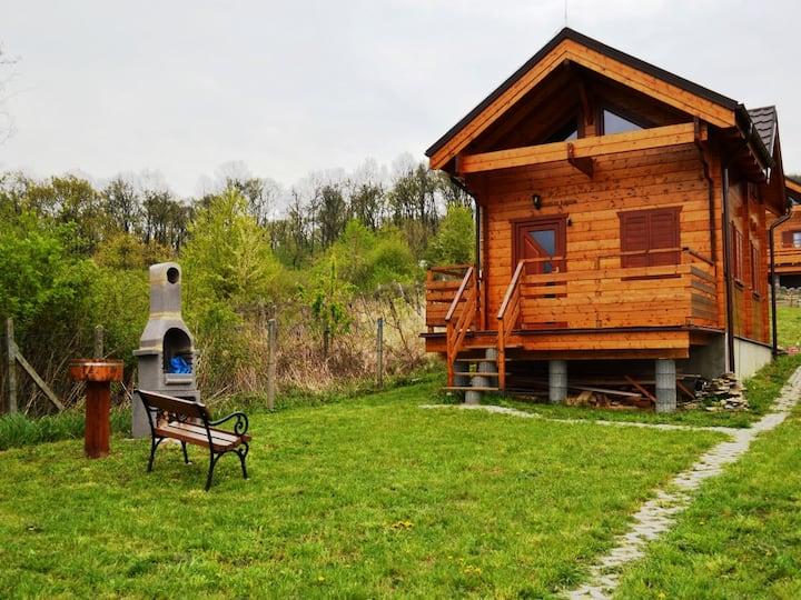 Zrubová chata Zvonček