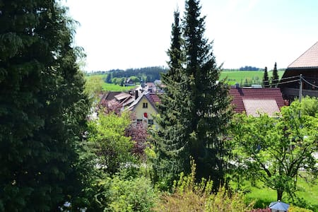 Double Room with Balcony in the Black Forest - Pousada