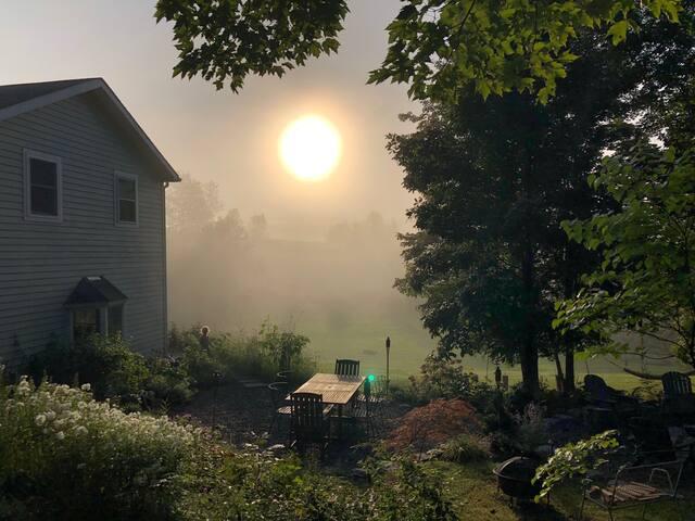Peaceful Country House near Hudson