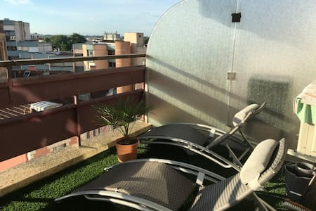 Appartement climatisé 500 m centre refait à neuf