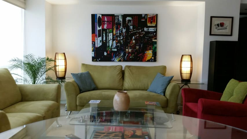 Comfortable and centric appartment in Roma norte. - Mexico City - Lägenhet