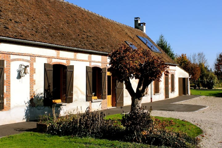 Chambre privée 2- ferme champenoise - La Chapelle-Lasson - Bed & Breakfast