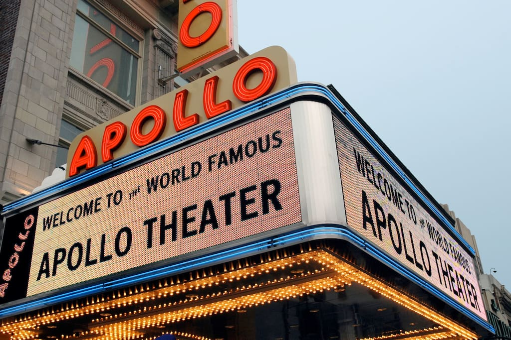 Couple blocks away from The Famous Apollo Theater