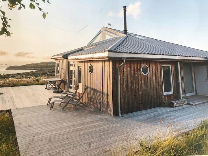 Moderne feriehus ved sjøen, 2 timer fra Trondheim!