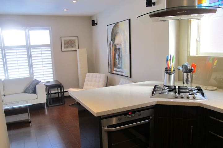 2 bedroom with parking and outdoor deck!