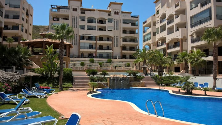 Costa Blanca view, luxery apartment