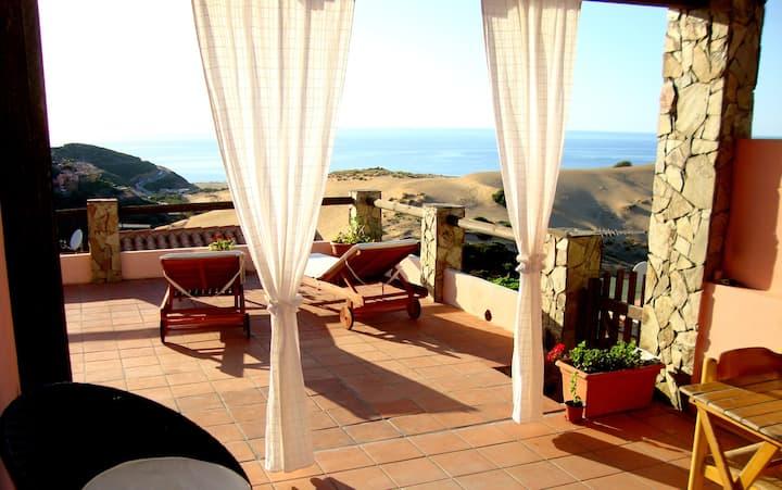 Villetta Mare&Dune nell'incontaminata Costa Verde