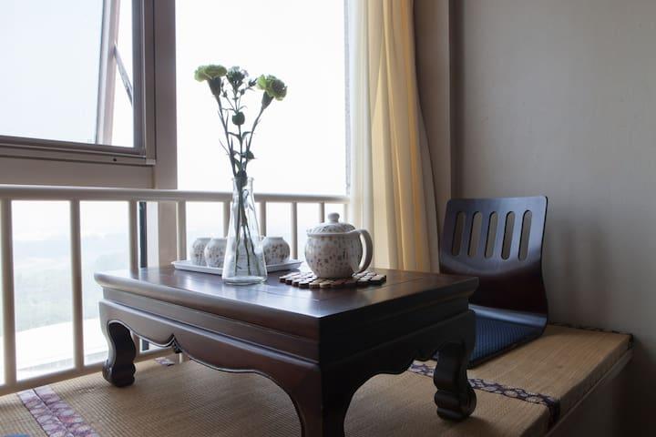 精品商务公寓 地铁站零距离 温馨的家庭友好型公寓 - Beijing - Appartement
