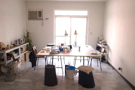 Cosy room in artists' studio Taipei - Beitou District