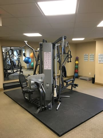 gym in building
