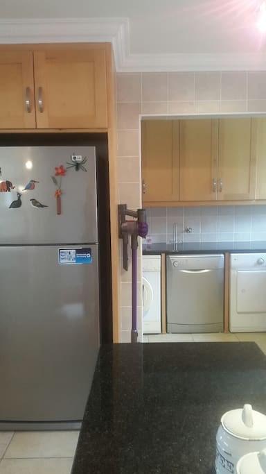 Appliances available in kitchen