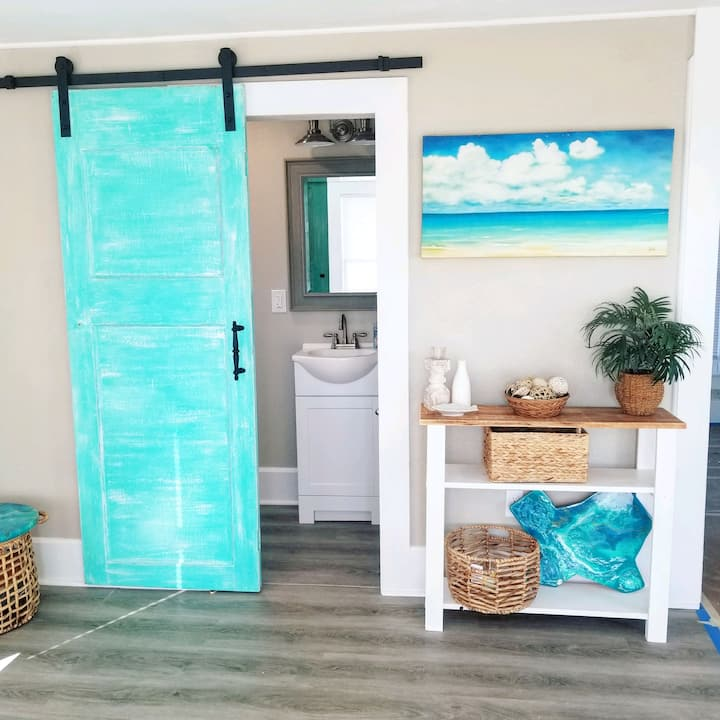 Mermaid themed Cottage in Rockport Tx