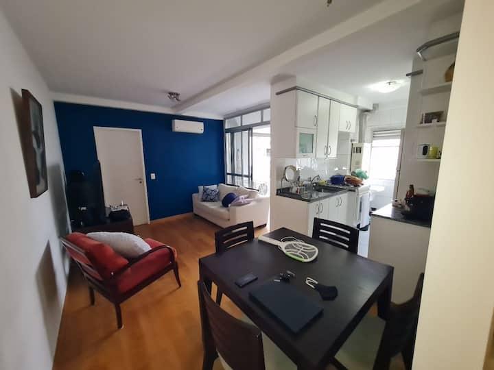 Apartamento bem localizado em Pinheiros (60m²)
