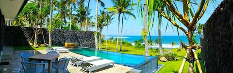 NEW Beachfront Pool Villa @ BALIAN