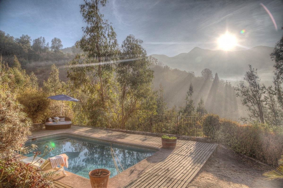 cabaña rustica olmue airbnb