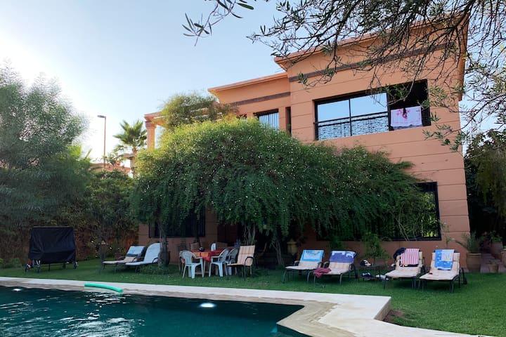 Villa Privée: Jardin & Piscine à Marrakech ☀️
