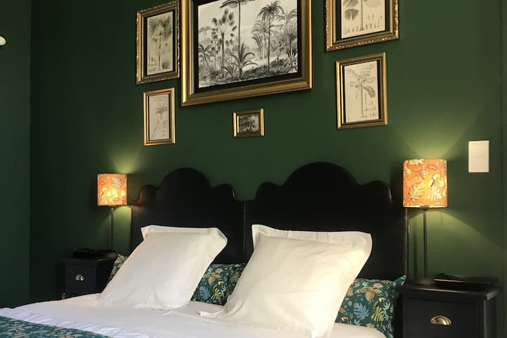 Le Pavillon * la Chambre Verte * Bed & Breakfast