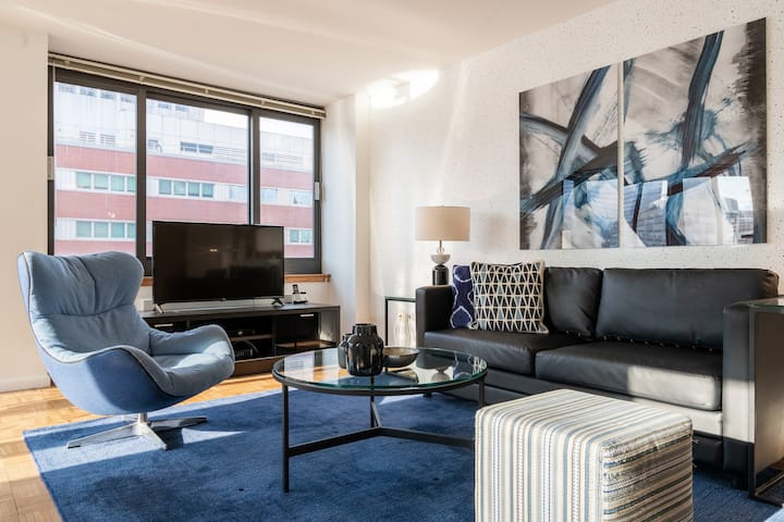 Modern 1 bedroom in Tribeca near subway