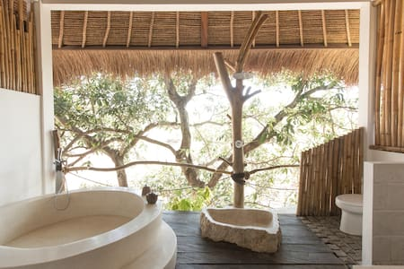 Jungle Clifftop Cabin with Forest Canopy Bath #3 - South Kuta