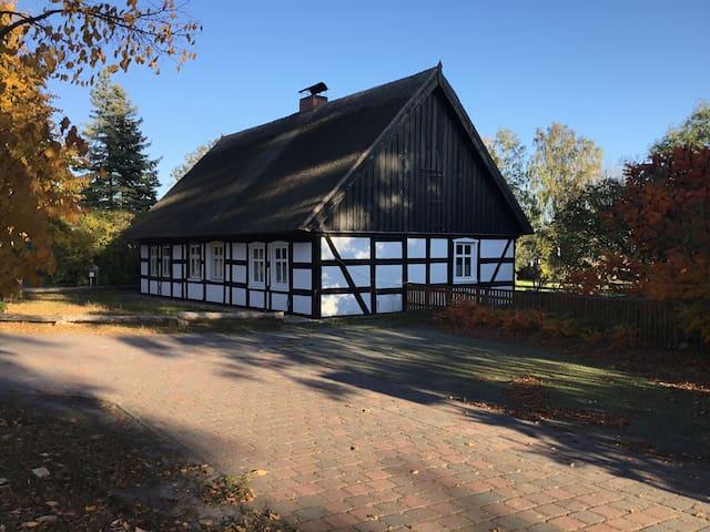 Ferienhaus am Fenn Ahlbeck + 5000qm + Baumhaus