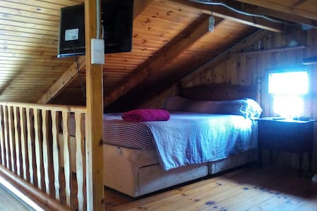 Double room mezzanine eco living countryside