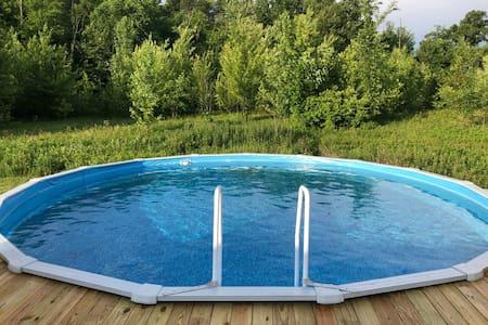 24 private acres of quiet serenity
