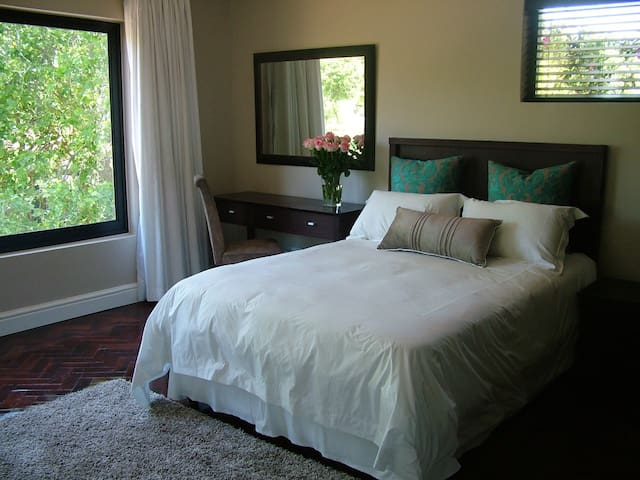 Private and secure SERVICED self catering