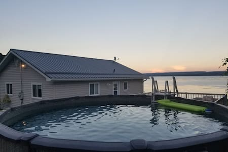 Luxury 3 bdrm Home on Picturesque Rice Lake!