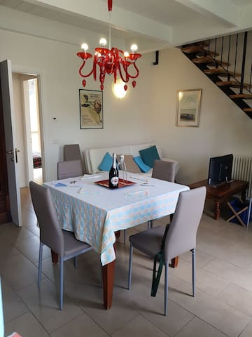 Stylish new appartment near the beach Marina Romea