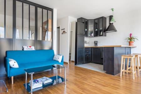 ❤️ Beau et charmant F2 @ Ménilmontant avec balcon - Parigi - Appartamento