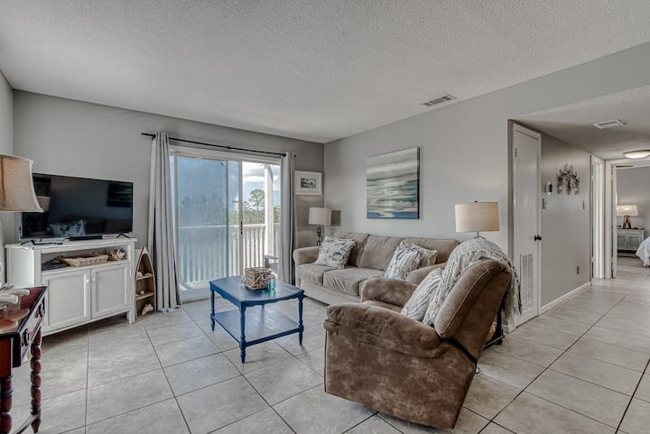 Retreat, in natural settings, On Perdido Beach Boulevard! - Romar Village 322