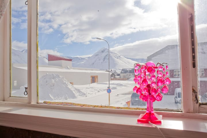 Royal double room, with nature walks/hiking nearby - Siglufjörður - Guesthouse