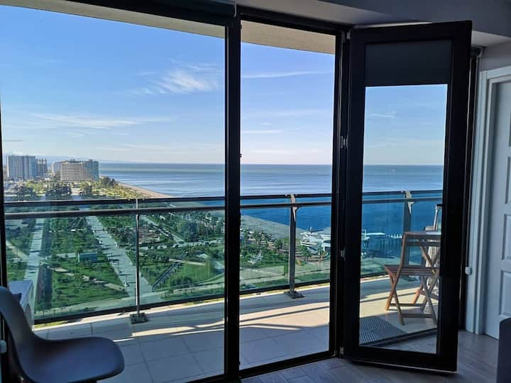 (half price offer) premium 100% sea view appt