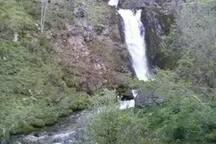 cascadas y lagos en toda la región