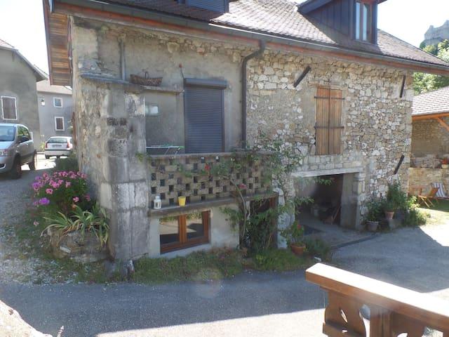 Belle maison entre  Genève et Annecy - Chaumont - Lägenhet