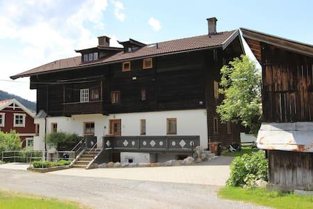 Alluring Chalet with Garden, Balcony, Ski Storage, BBQ