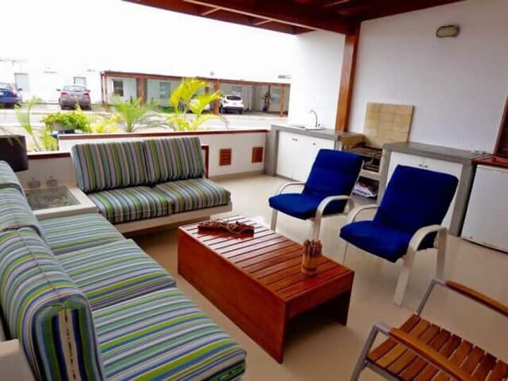Casa de Playa en Maradentro Km 119 Panam. Sur