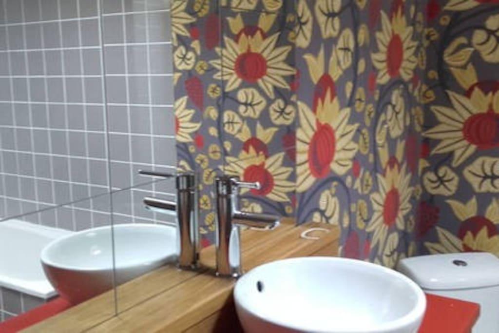 salle de bain étage deux vasques