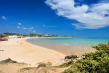 Spiaggia Punta Braccetto 30km