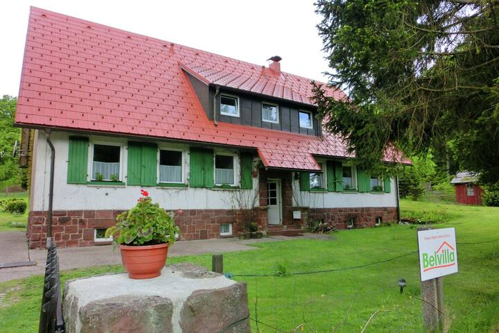 Holiday home in a quiet, lovely location in the Thuringian Forest