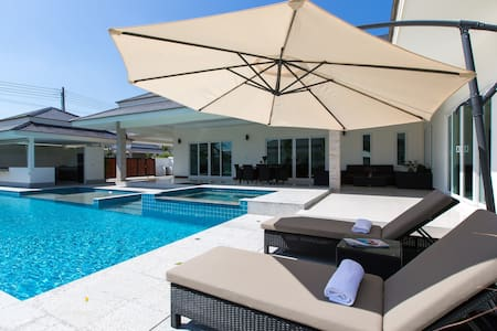 Pool Villa Hua Hin 3BR NR beach - TH - 别墅